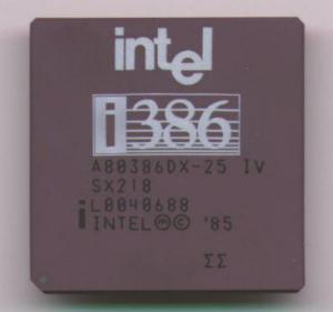 Intel386DX